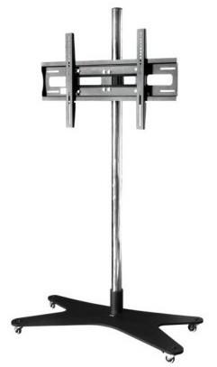 Rollstandfuß für Displays