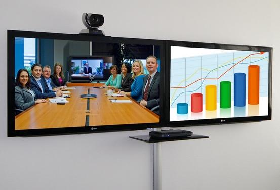 videokonferenzbildschirme