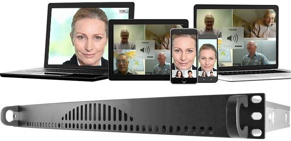 Intranet Server für interne Telco und Videokonferenzen oder externe Kommunikation
